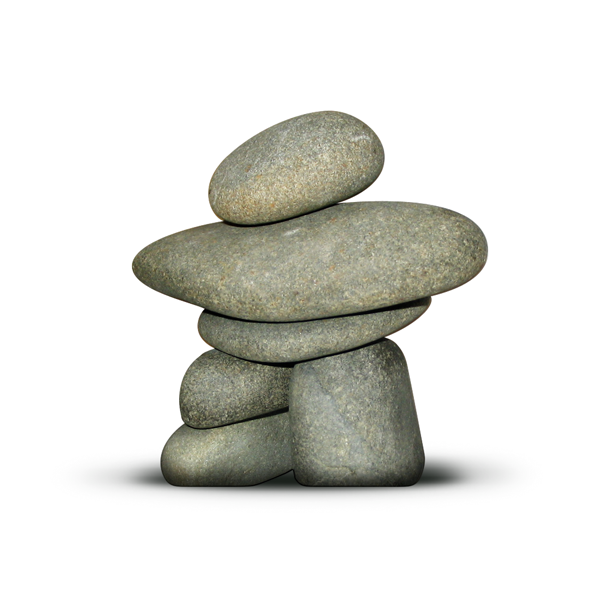boho inuk stone